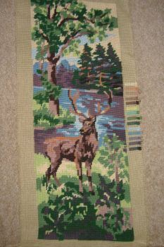 Tapestry Picture - Deer Panel