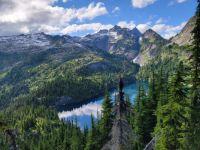 Thornton Lake, North Cascades NP, USA