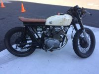 Jordan's 1971 CB 350 rat cafe