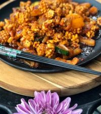 오징어볶음 Ojingeo Bokkeum : Korean Spicy Stir-Fried Squid