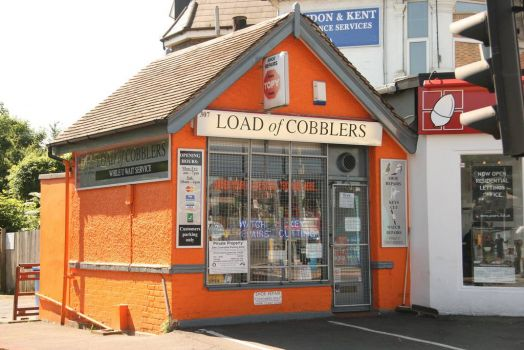 What a Load of Cobblers, Bromley, UK, by John.P. (flickr)