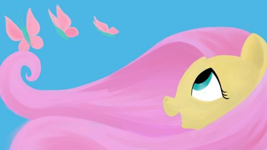 My Little Pony Fluttershy1