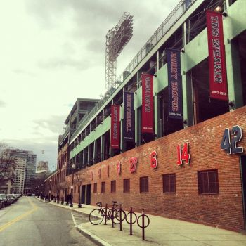 Fenway Park closed today because of a 19 yr old