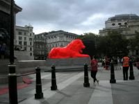 The Fifth Lion at Trafalgar Square