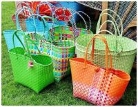 Woven Straw Baskets for your Easter Shopping & Gifting