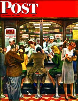 SATURDAY EVENING POST COVER - 1946