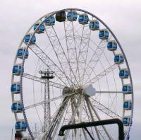 Helsinki Ferris Wheel with sauna