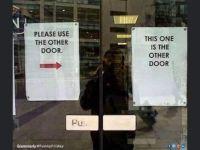 Other door :-)