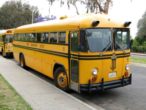 Crown Bus At Balboa Park