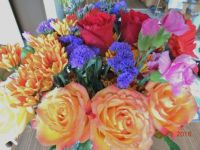 Anniversary bouquet from Hubby