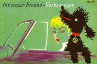 Vintage advertisement - illustration by Donald Brun, 1958