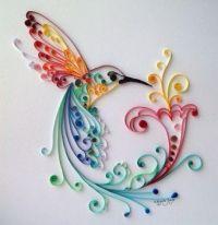 Pretty Paper Hummingbird