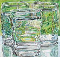 Skowhegan Water Glasses, Janet Fish