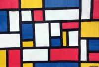 Mondrian collage