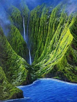 papalaua falls hawaii