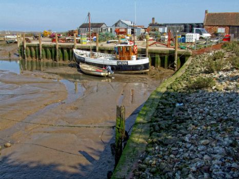 The Harbour, Brancaster Staithe - 17the April 2010