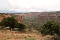 A Canyon In Colorado National Monument