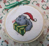 1 - Christmas Manatee