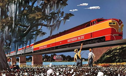 SOUTHERN PACIFIC - SUNSET LIMITED - 1950