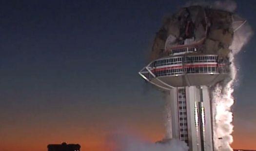 The Landmark Casino Implosion - Las Vegas