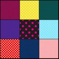 Polka dot patterns 3