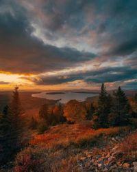 Height of Land, near Rangeley, Maine