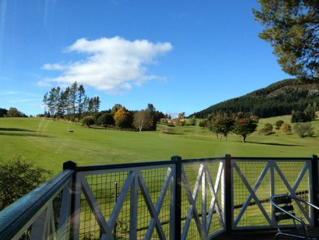 Golf Course,Perthshire,Scotland.