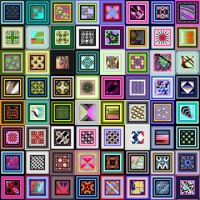 Potpourri343 - Square Dance - XLarge - rj
