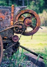 Rust and Weathered Wood