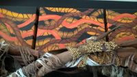 Artworks - painting and wood sculpture