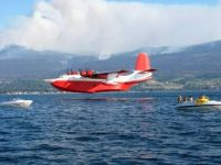 Water Bomber at Kelowna B C.