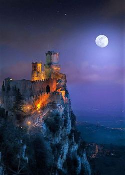 One thousand and one nights ~ San Marino - Guaita fortress