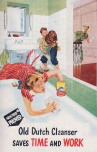 Themes Vintage ads - Old Dutch Cleanser