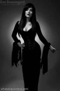 Eve Beauregard as Morticia