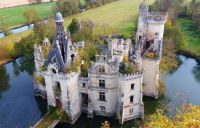 Abandoned chateau in Vienne, France