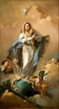 GiamBattista Tiepolo: La Inmaculada Concepción: 1767/9