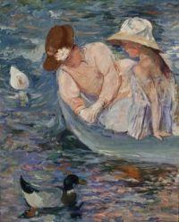 Mary Cassatt Artwork - 'Summer Time'