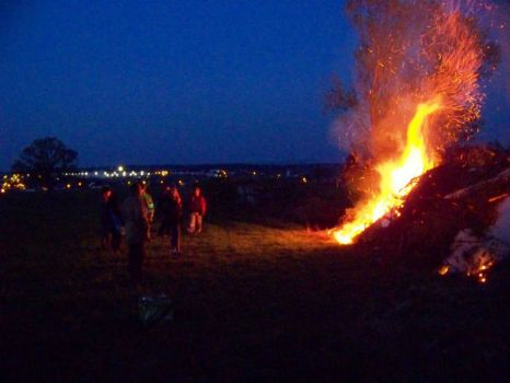 Pálení čarodějnic 30.4.2017 - Large bonfire April 30, 2017