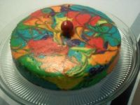 Tie- Dyed Cheesecake