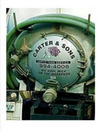 Funny Septic Tank Truck #1