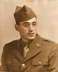 My Dad in 1945.