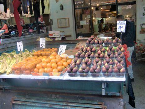 A fruit stall in Tel Aviv, Israel trip 2016
