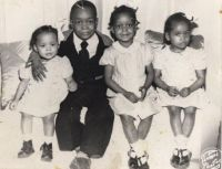 1948 Kids after Church
