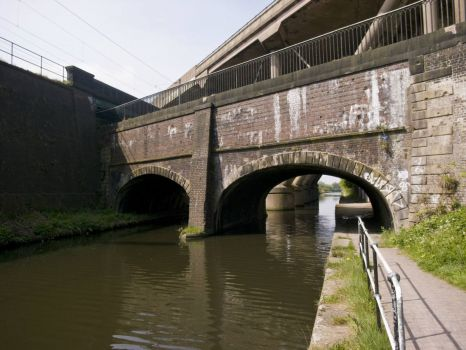 Stewart Aqueduct from New Main Line Canal