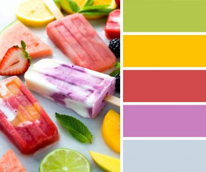Mixed Ice Lollies