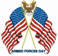USA Armed Forces Day  May 21