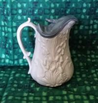 Lily of the Valley ironstone syrup pitcher