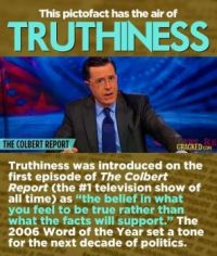 12 Words Created In Movies And TV Shows - Truthiness