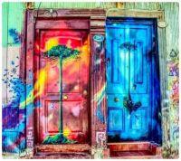 Valparaiso - Stunning Street Door Art