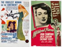 A Woman's Face ~ 1941 and Mildred Pierce ~ 1945